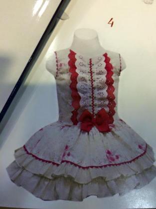 miranda vestido rojo